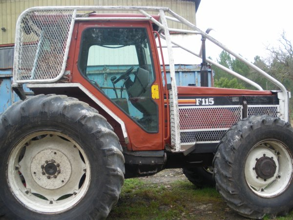 tracteur forestier fiat