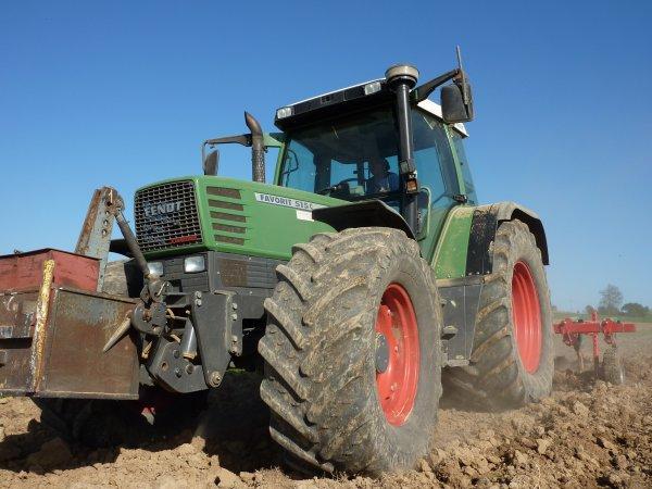 Préparation des terres 2011