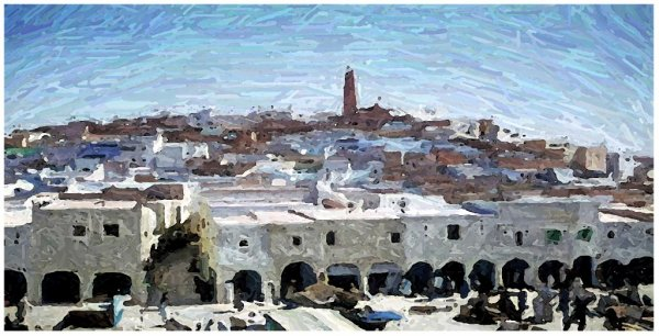 La vie à Ghardaïa, en 2012