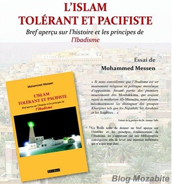 Culture : L'Islam tolérant et pacifiste de Mohammed Messen Message de paix !