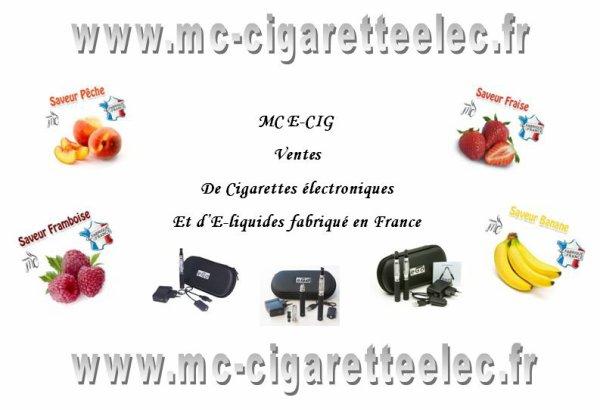 www.mc-cigaretteelec.fr site de cigarettes electroniques et de liquides francais à prix discount