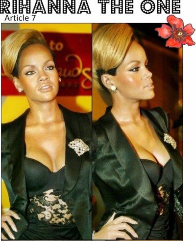"""  Rihanna au célébre musée de madame Tussauds de Washington  """