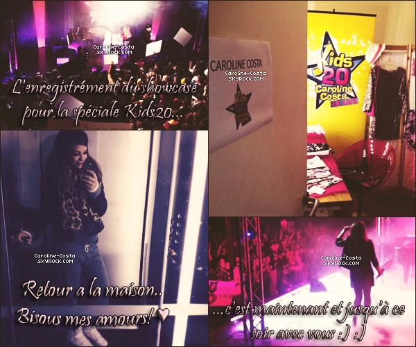 14 novembre : Voici quelques nouvelles photos postées par la miss Caroline sur son facebook.