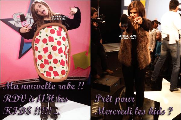 29 novembre : Nouvelles photos de Caro' lors du Grand Show de Céline Dion samedi dernier.