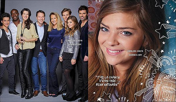 07 décembre : Nouvelles photos de Caroline dans Robin Des Bois & dans @NewStarsMag.