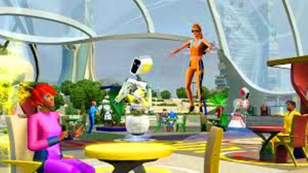 Sims 3 Cool World – Future Style