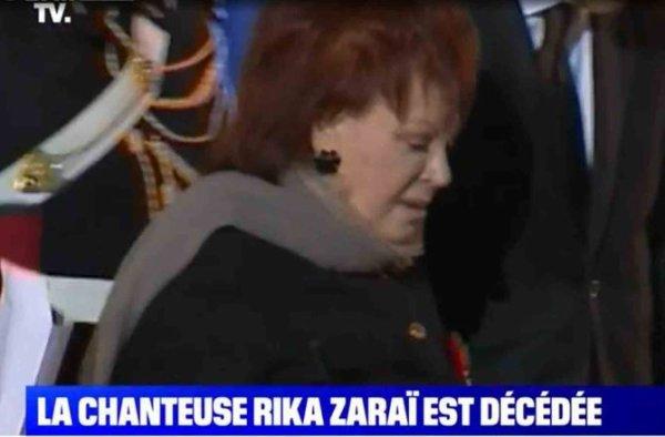 Mort de Rika Zaraï