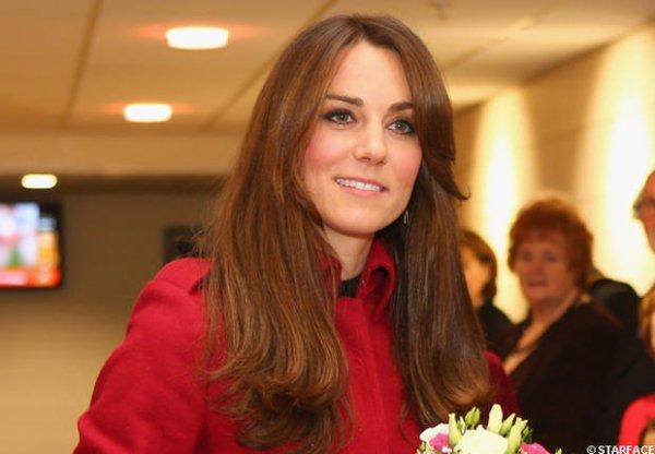 Kate attendrait une fille !
