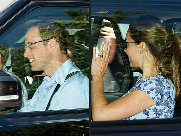 Kate & William sont allaient rendre visite à la famille Middleton !