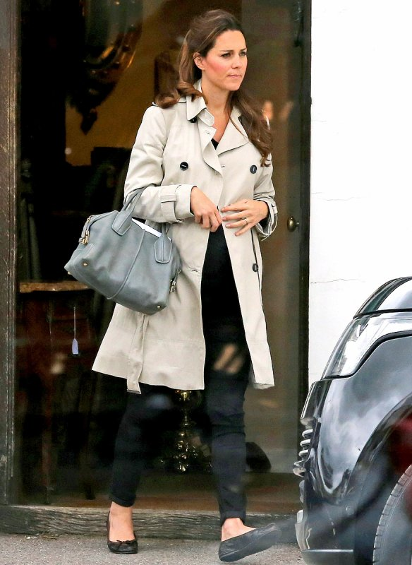 Photos & Scans de magazine de Kate enceinte !