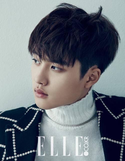 """사진    Do Kyungsoo (D.O) du groupe EXO, pour """"ELLE""""   디오"""