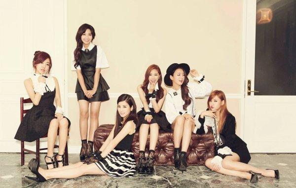 """사진   Le groupe APink pour leur mini album """"Pink Luv""""  에 이핑크"""