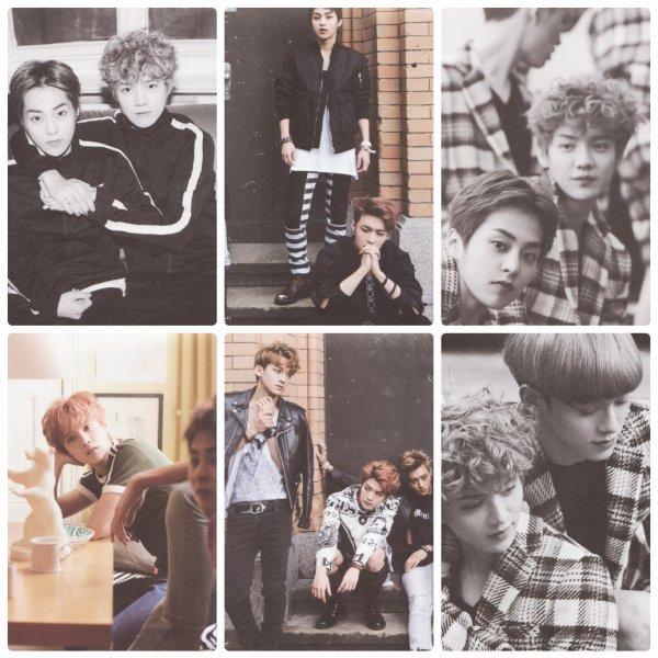 사진   Le groupe EXO, scan du photobook 'Die Jung' (incomplet)   Une demande par Gyaku  엑소