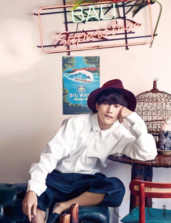 사진   Le leader JinYoung  du groupe B1A4  pour   Céci   진영