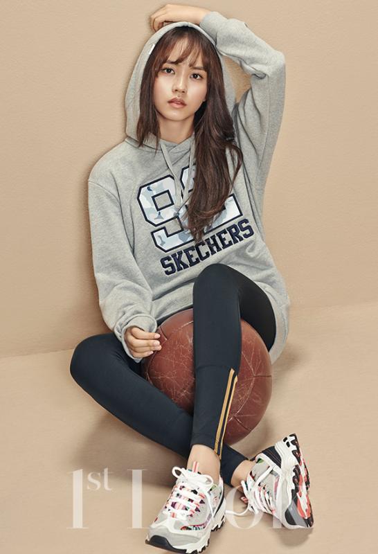 사진 [/align ] Le groupe Block B et l'actrice Kim So Hyun, posent pour '1st Look'