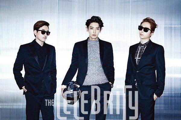 """Park Chanyeol (EXO)  pour le magazine """"The Celebrity"""" - Novembre 2014  Une demande de ILive-ForThem"""