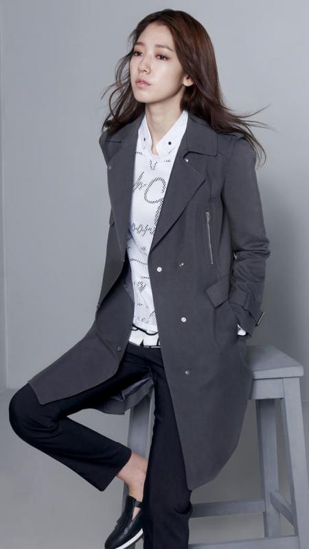 사진   Les acteurs Park Shin Hye et  Sung Joon  pour Mindbridge  - Printemps 2015 박신혜 & 방성준