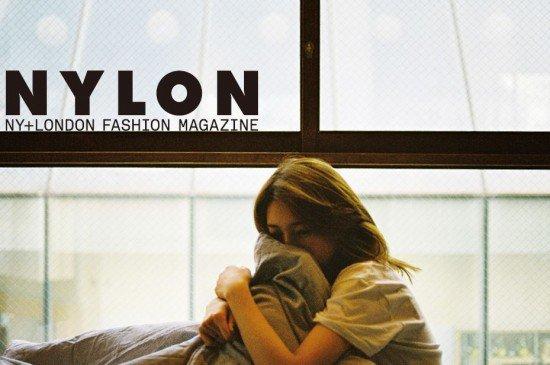 """사진     Bae Suzy du groupe Miss A  pose pour le magasine """"Nylon"""""""