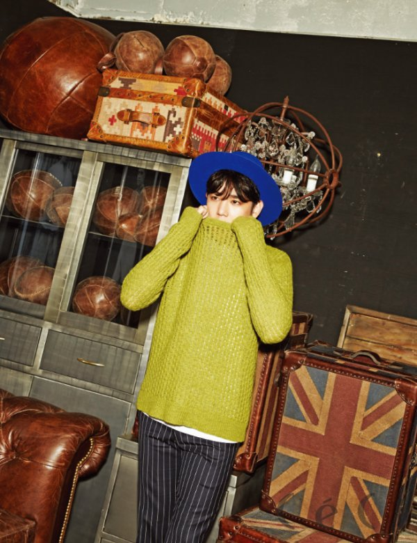 사진 [/align ] Kang In  du groupe Super Junior  pour   CéCi