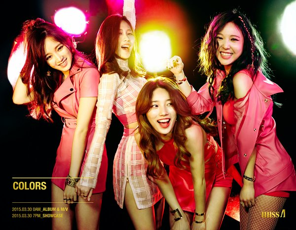 사진   Le groupe Miss A  pour   Colors , concept photo   Pour ItsBap