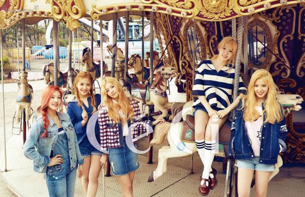 사진 [/align ] Le groupe  Red Velvet  pour  CéCi , mai 2015