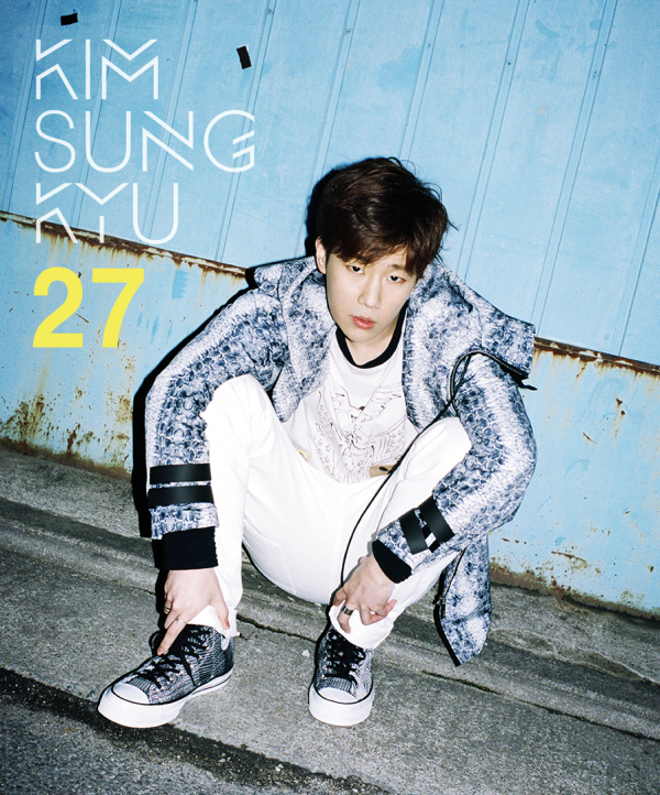 사진     Kim Sunggyu du groupe  INFINITE  pour 27, son 2nd mini album   김성규