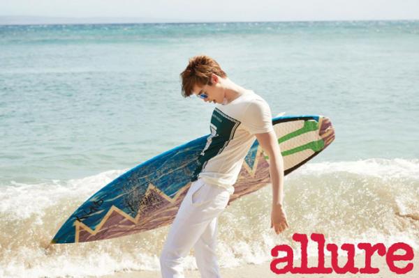 사진  L'acteur  Lee Jong Suk    pour  Allure Korea, Juin 2015    이종석