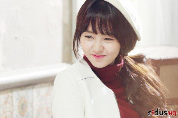 사진    L'actrice Kim So Hyun pose pour Soup F/W 2015   Merci à KimSoHyun pour les photos ~