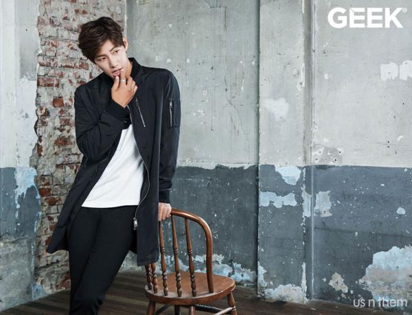 Song Jae Rim pour GEEK, Septembre 2015