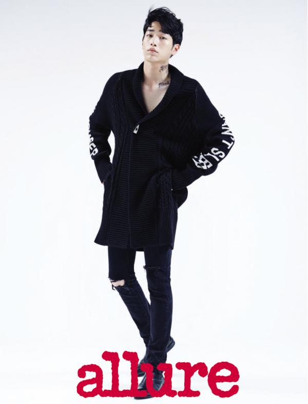 Seo Kang Joon pour Allure Korea, Septembre 2015