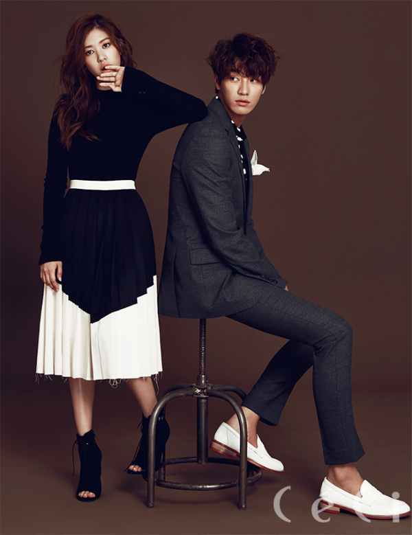 Kim Young Kwang & Jung So Min pour CéCi, Septembre 2015