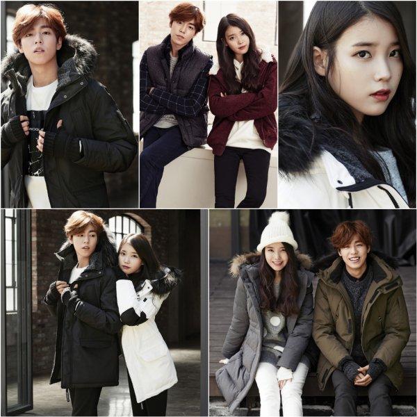 Lee Hyun Woo et Lee Ji Eun pour UnionBay, collection hiver