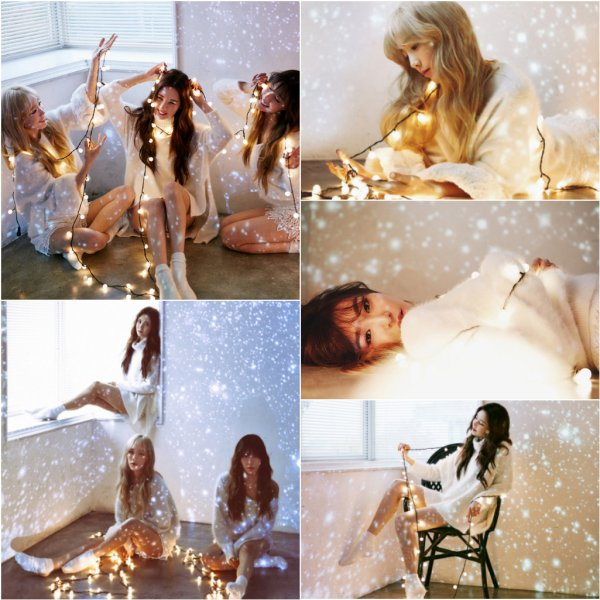 "TaeTiSeo pour le concept photo""Dear Santa"""