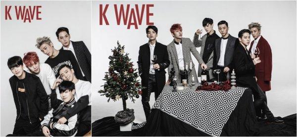 Le groupe B.A.P pour KWave (Décembre 2015)