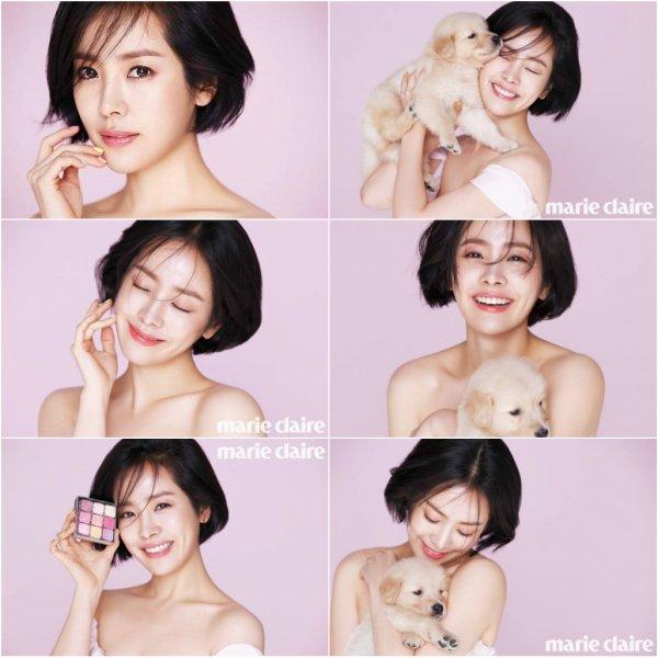 Han Ji Min pour Marie Claire