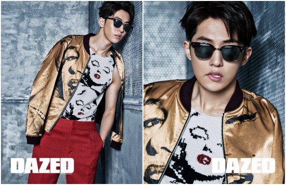 L'acteur Nam Joo Hyuk pour Dazed and Confused _ Février 2016