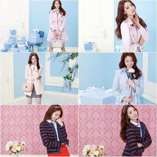 Park Shin Hye pour ROEM (printemps 2016)
