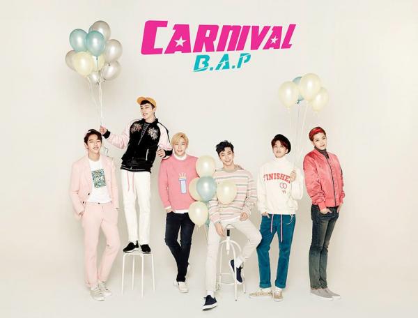 """B.A.P pour leur cinquième mini-album """"Carnival"""""""