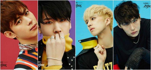 VIXX pour leur cinquième album single: Zelos