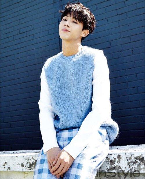 L'acteur Ji Soo pour InStyle