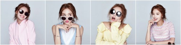 JaeKyung (Rainbows) pose pour Nylon -  mai
