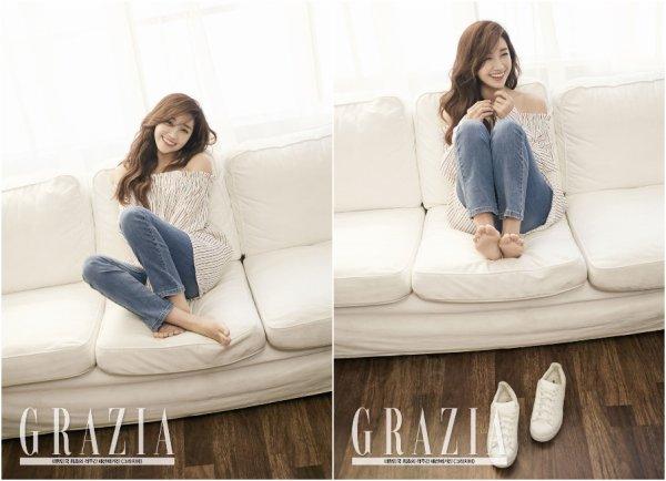 Jung Eunji (Apink) pour Grazia - mai 2016