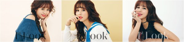 L'actrice Kim So Hyun pour 1st Look