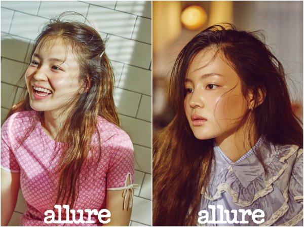 La chanteuse Lee Hi pour Allure