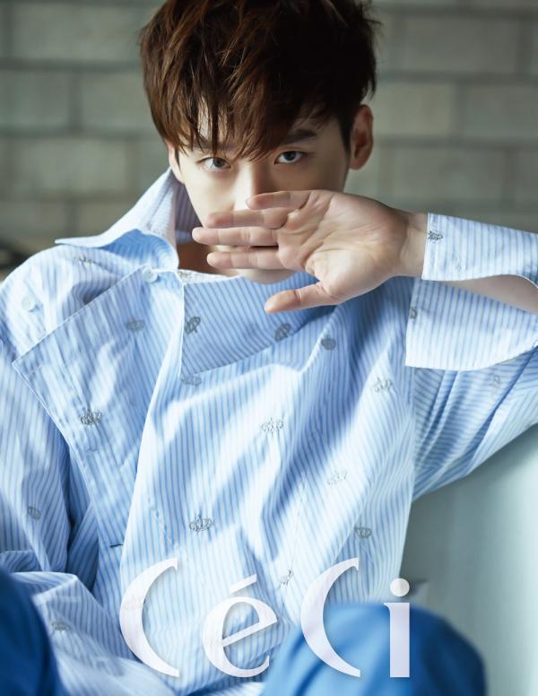 L'acteur Lee Jong Suk{/g] en couverture du magazine CéCi, édition juin 2016