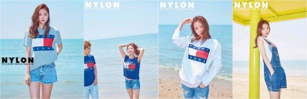 La membre de Apink; Son Na Eun pour le magazine NYLON, juin 2016