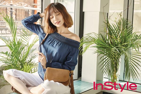 Hani de EXID pose pour le magazine InStyle, juin 2016