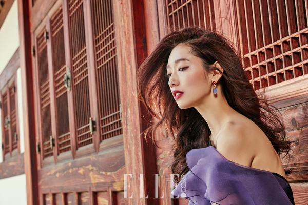 L'actrice Park Shin Hye pour ELLE Korea - juillet 2016