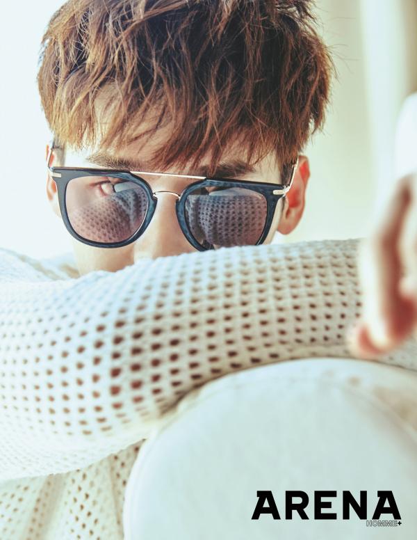 Lee Jong Suk pour Arena homme plus Korea, juillet 2016