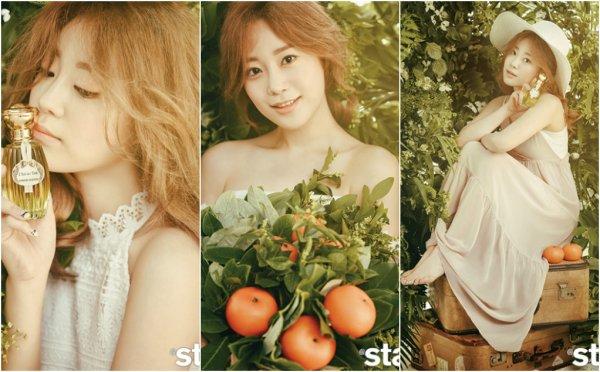 Heo Youngji pour @Star1, édition juillet 2016